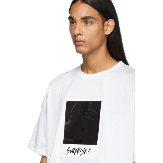 Doublet White Polaroid Film T-Shirt