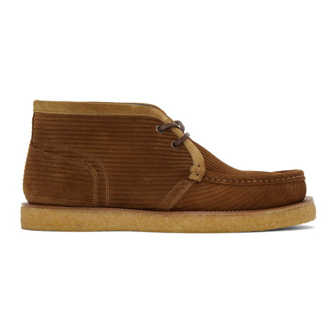 Photo: Dolce and Gabbana Brown Suede Desert Boots