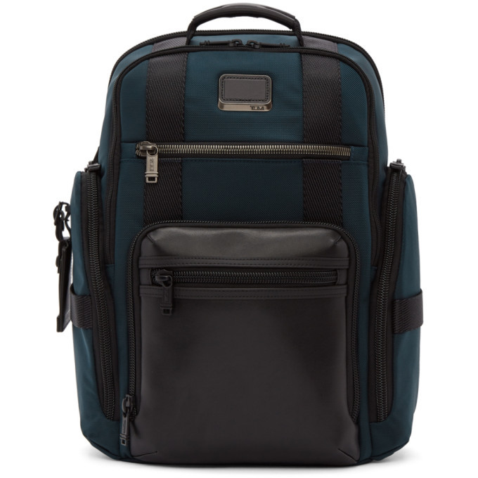 Photo: Tumi Navy Sheppard Deluxe Brief Pack® Backpack