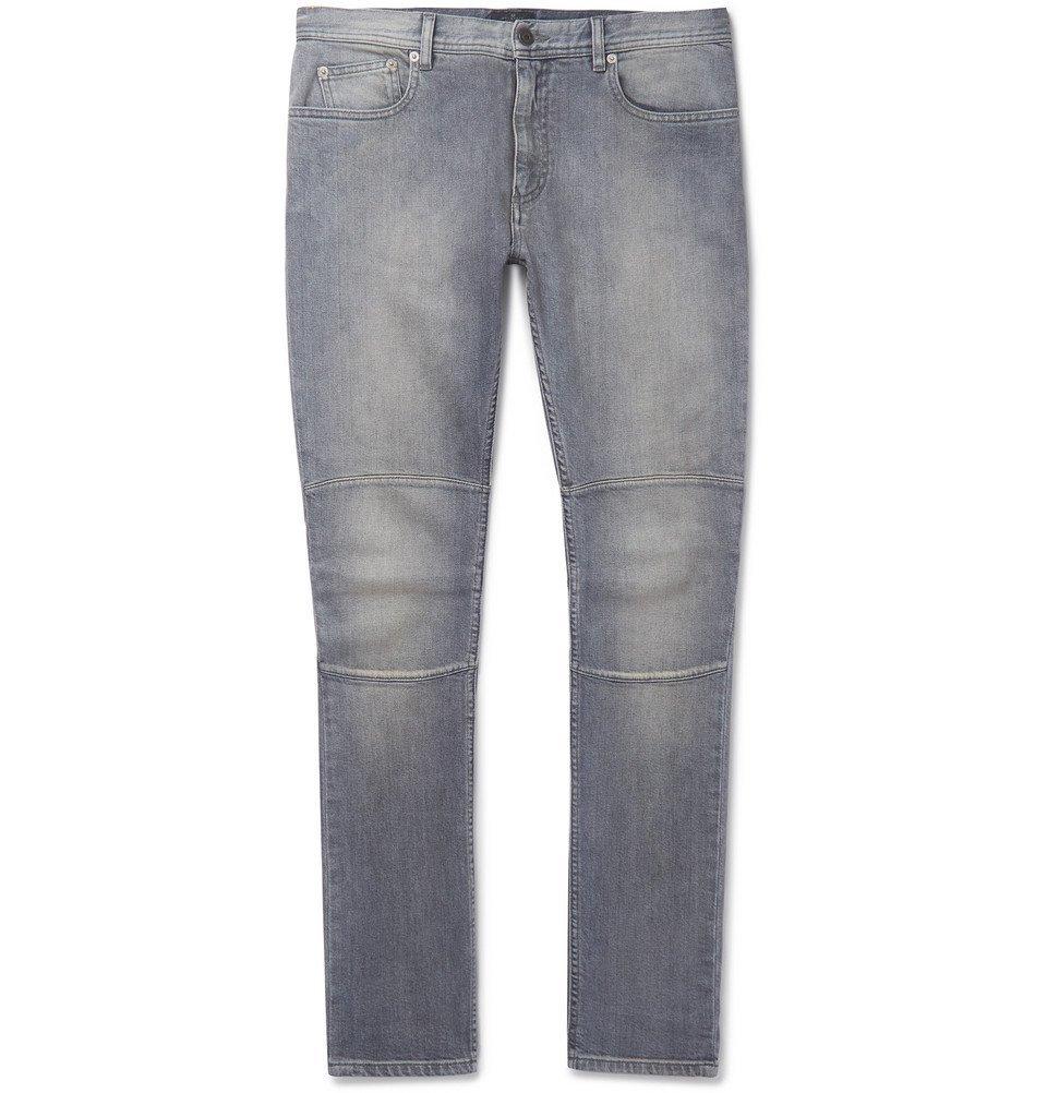 Belstaff - Tattenhall Skinny-Fit Stretch-Denim Jeans - Men - Gray