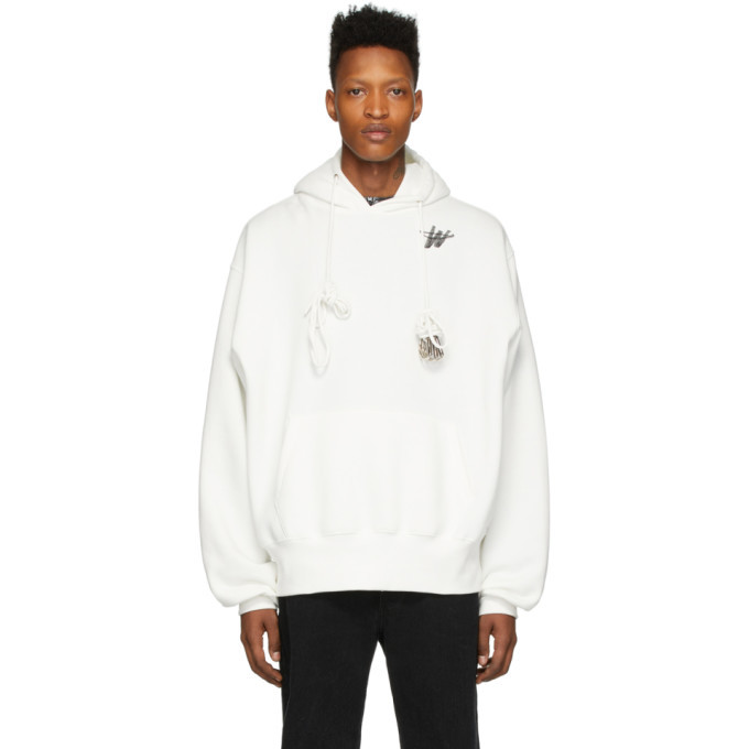 Photo: We11done White WD Logo Hoodie