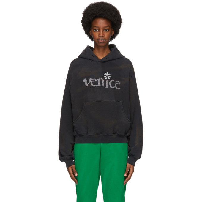 Photo: ERL Black Venice, Be Nice Hoodie