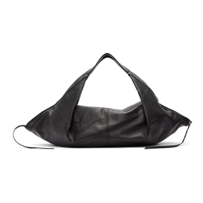 3.1 Phillip Lim Black Medium Luna Slouchy Hobo Bag