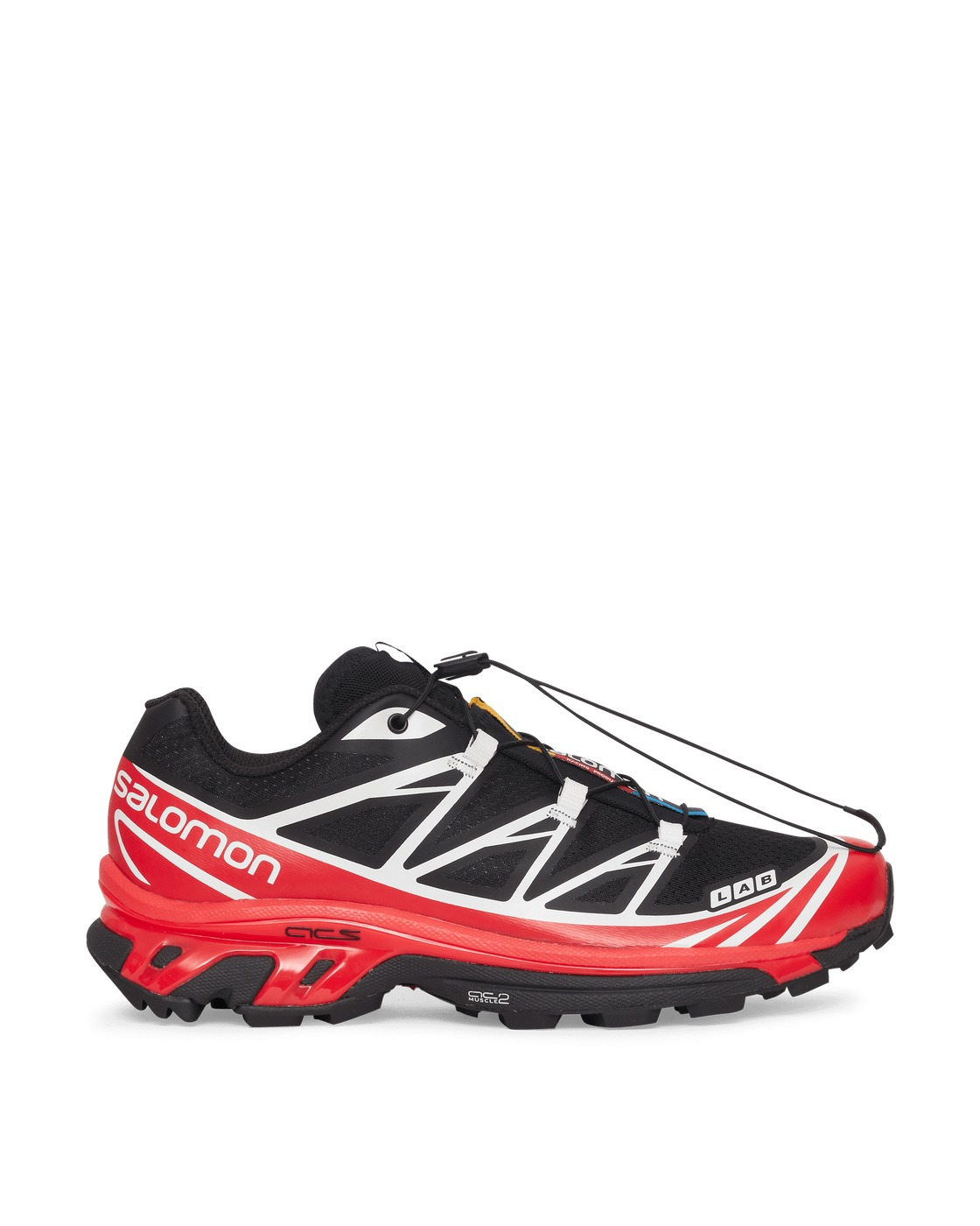 Photo: Salomon Xt 6 Advanced Sneakers Black/Racing Red