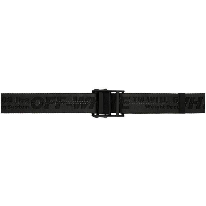 Photo: Off-White Black Industrial Belt