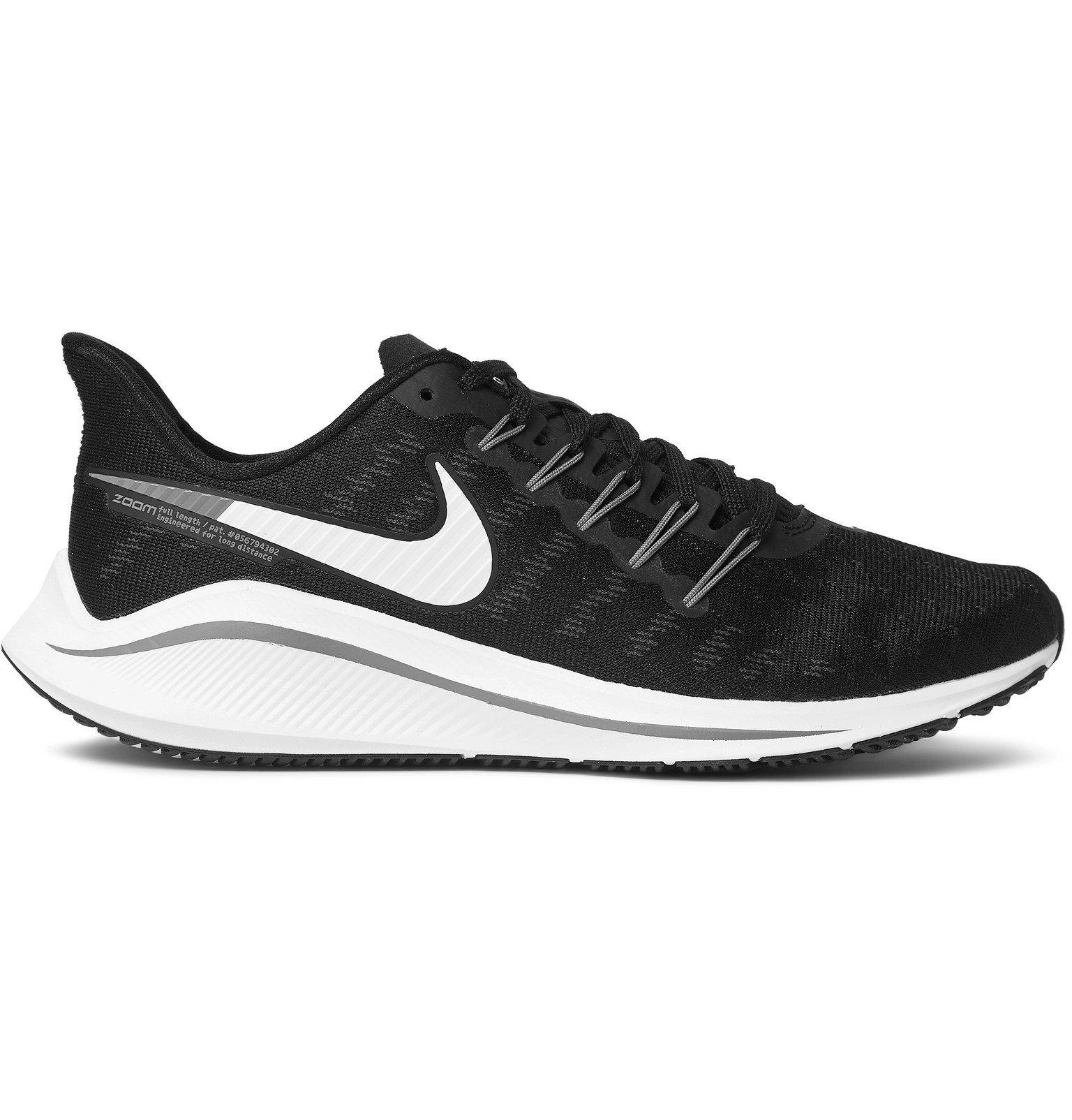Nike Running - Air Zoom Vomero Mesh Sneakers - Black