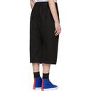 Raf Simons Black Short Trousers