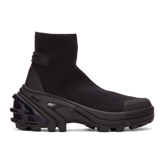Photo: 1017 ALYX 9SM Black Mid Sock Boots