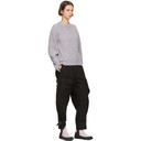 3.1 Phillip Lim Purple Lofty Rib Crewneck Sweater
