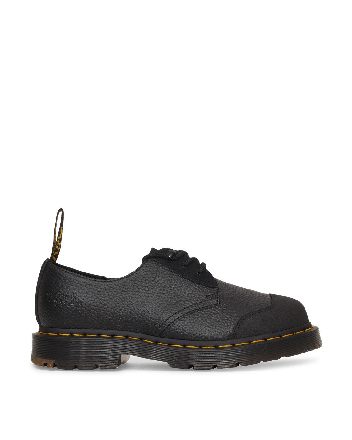 Photo: Dr Martens Bodega 1461 Smooth Boots Black