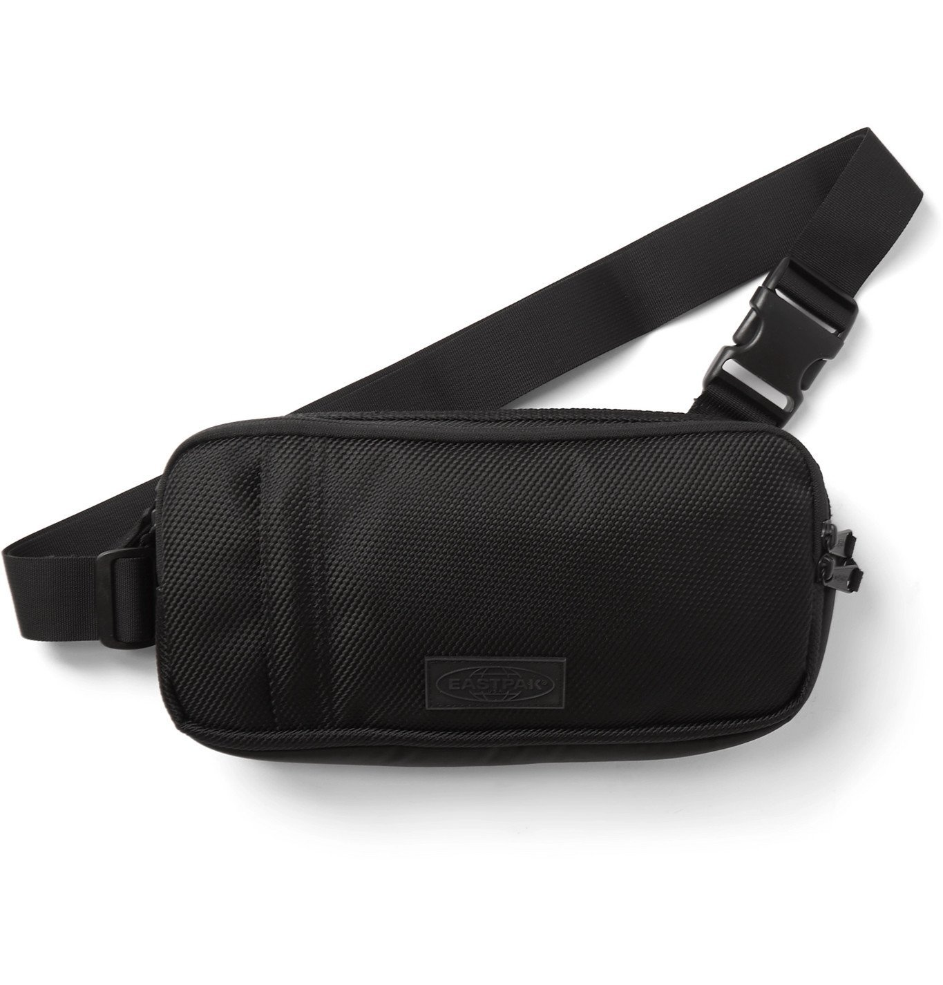 Photo: Eastpak - Logo-Appliquéd Canvas Belt Bag - Black