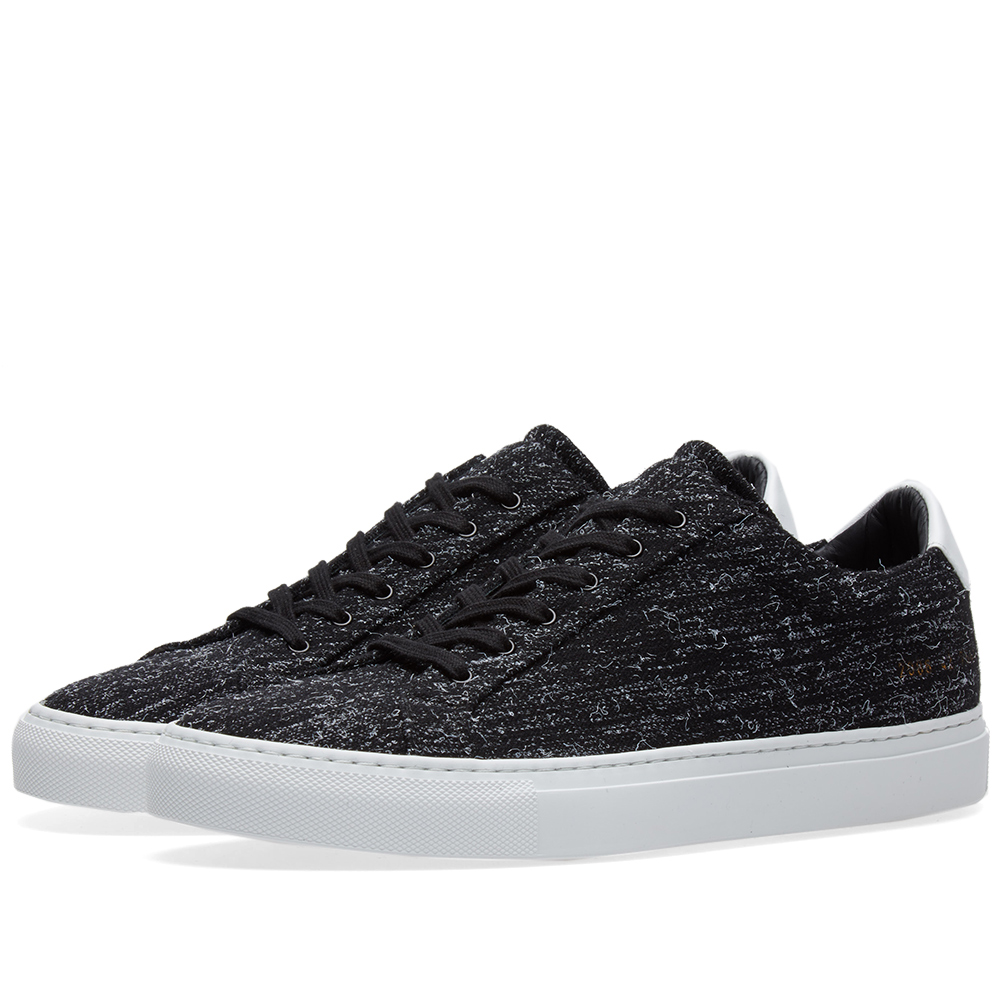 Common Projects Achilles Low Wool Black