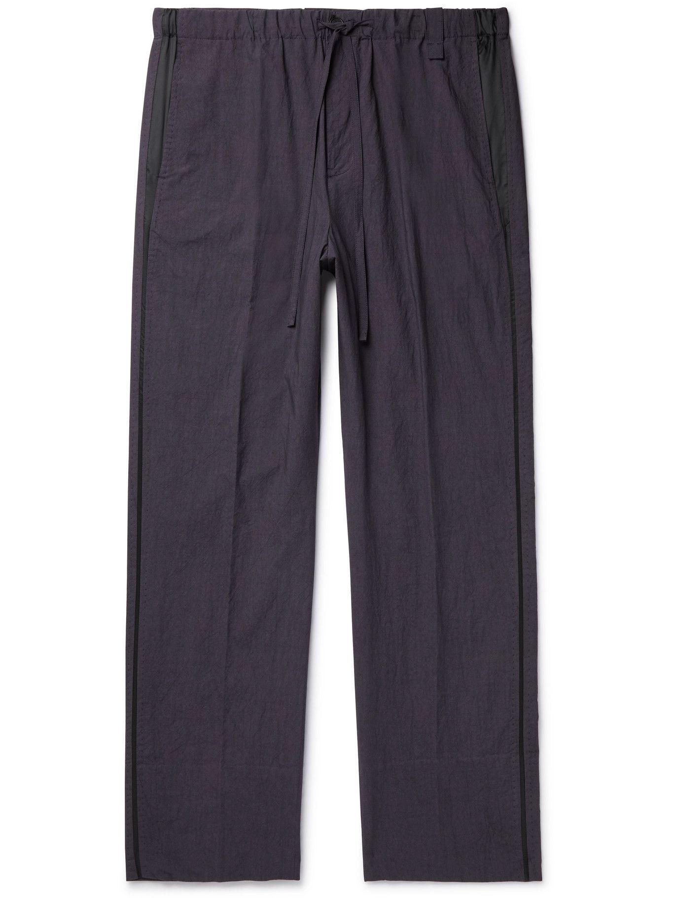 Photo: CRAIG GREEN - Cotton Drawstring Trousers - Gray