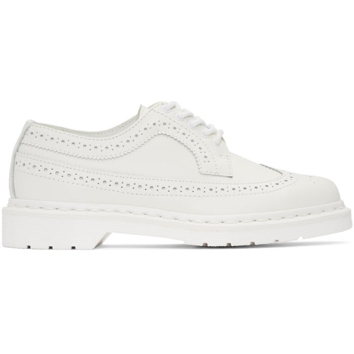 Photo: Dr. Martens White 3989 Brogues