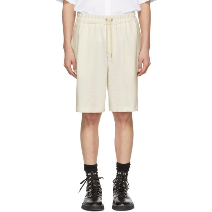 Photo: Jil Sander Off-White Knit Shorts