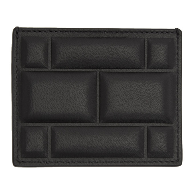 Photo: Bottega Veneta SSENSE Exclusive Black High Frequency Imbottiture Card Holder