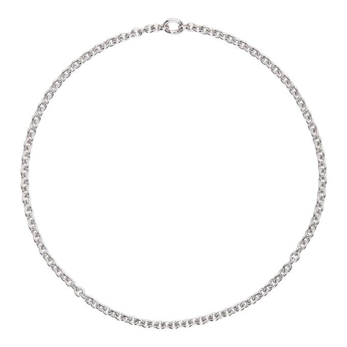 Photo: Tom Wood Silver Slim Ada Chain Necklace