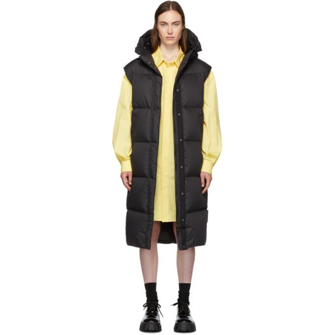 Photo: Moncler Black Down Comoe Vest