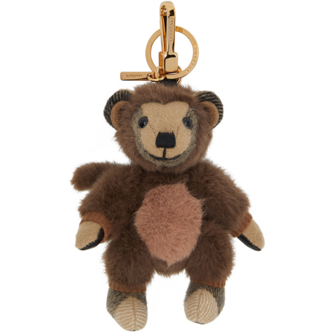 Photo: Burberry Beige Monkey Costume Thomas Keychain