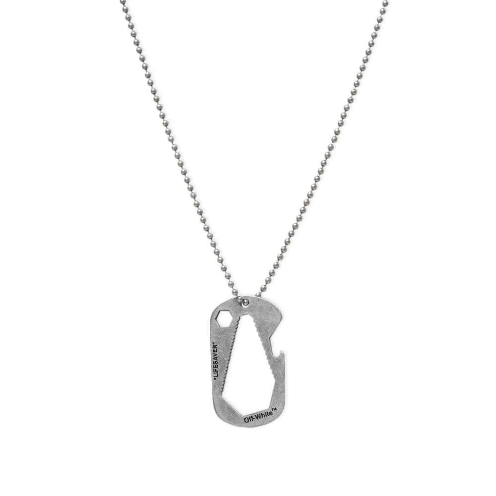 Photo: Off-White Lifesaver Necklace