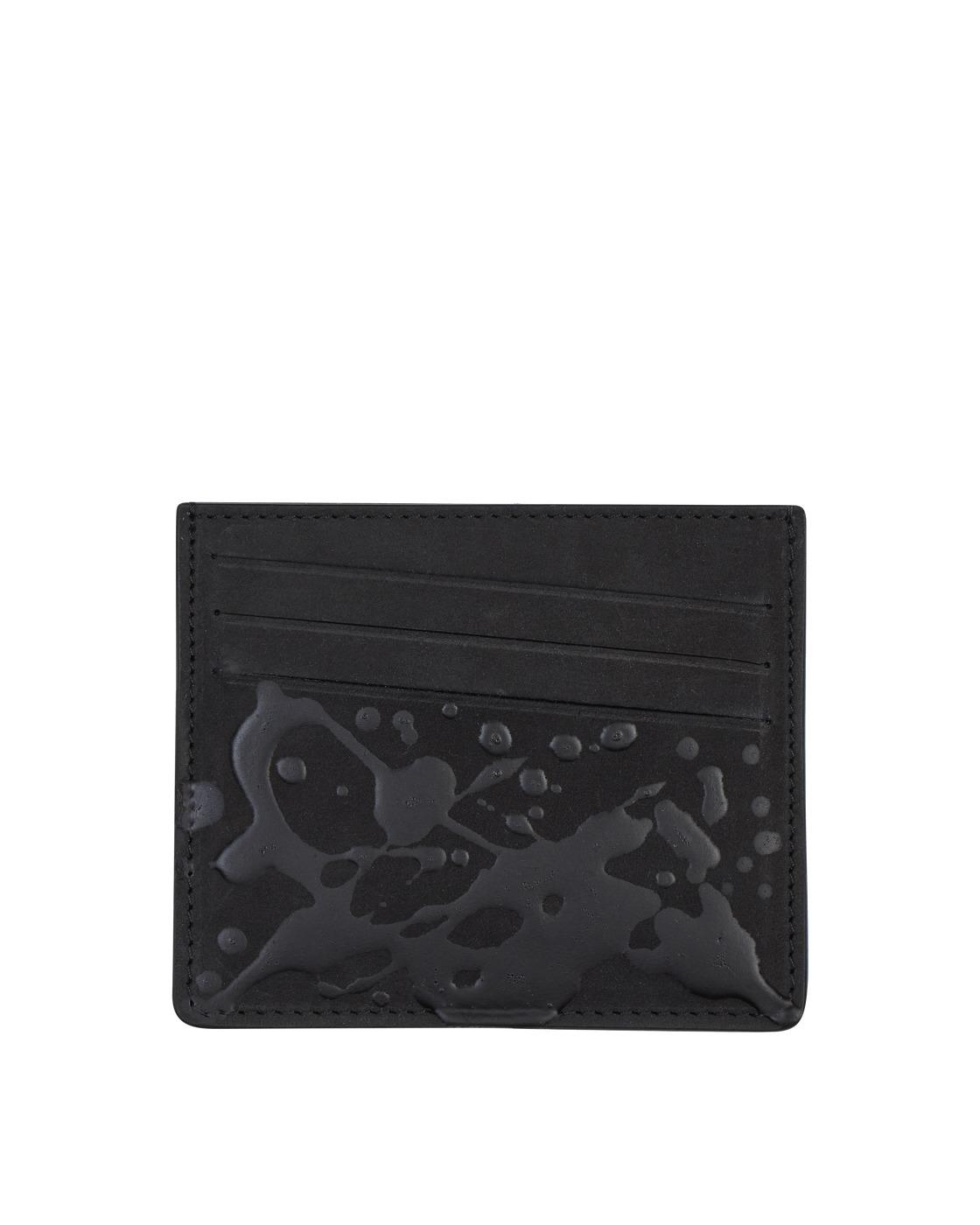Photo: Maison Margiela Cardholder Black/Paint