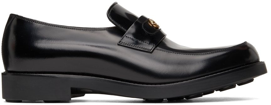 Photo: Gucci Black Interlocking G Loafers