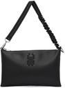 MCQ Black Logo Pouch Bag