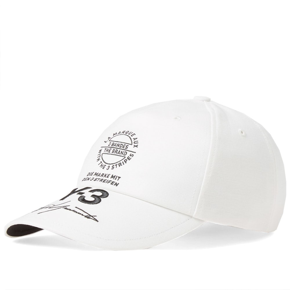 Y-3 Stacked Brand Cap