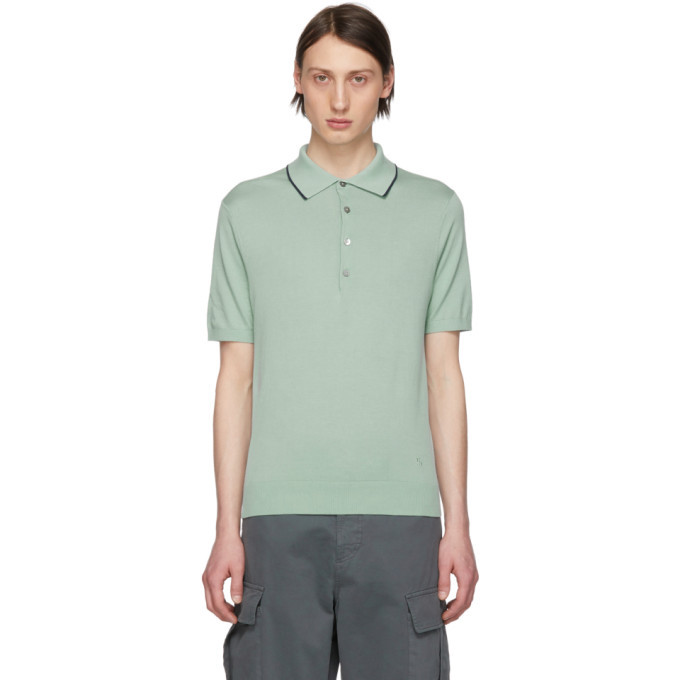 Photo: PS by Paul Smith Blue Pullover Polo