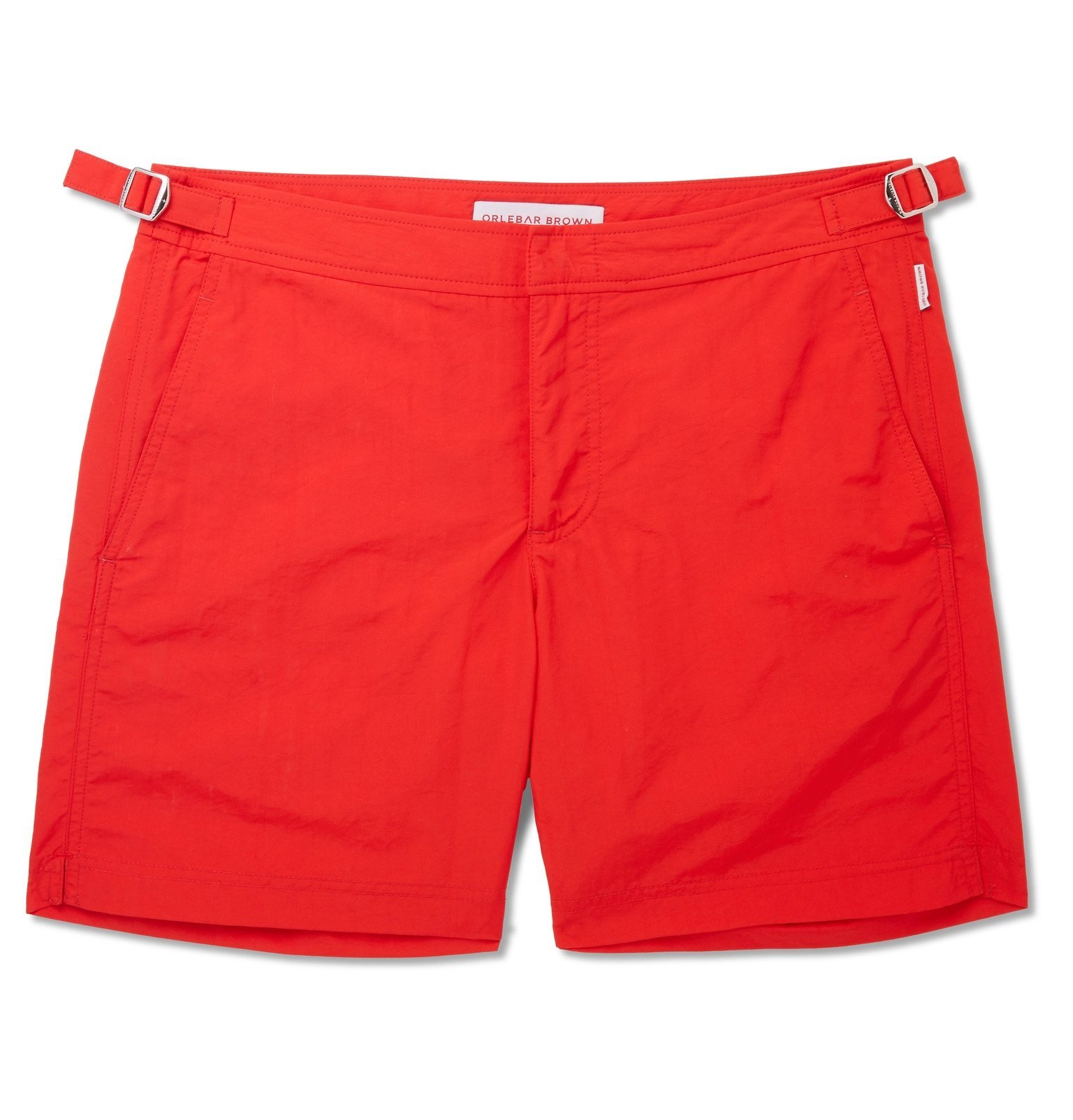 Photo: Orlebar Brown - Bulldog Mid-Length Swim Shorts - Red