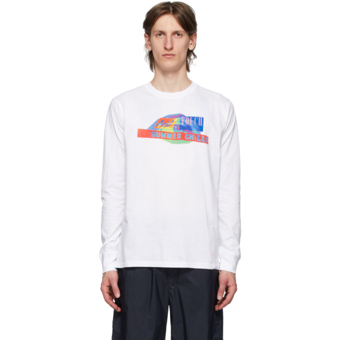 Photo: PS by Paul Smith White Acid Touch Sweatshirt