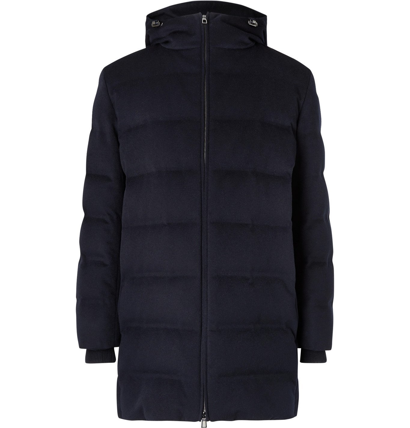 Photo: Loro Piana - C.O.L.D. Quilted Cashmere Hooded Down Jacket - Unknown