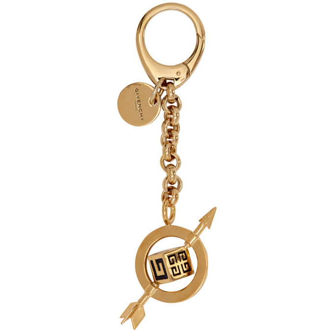 Photo: Givenchy Gold G and Arrow Charm