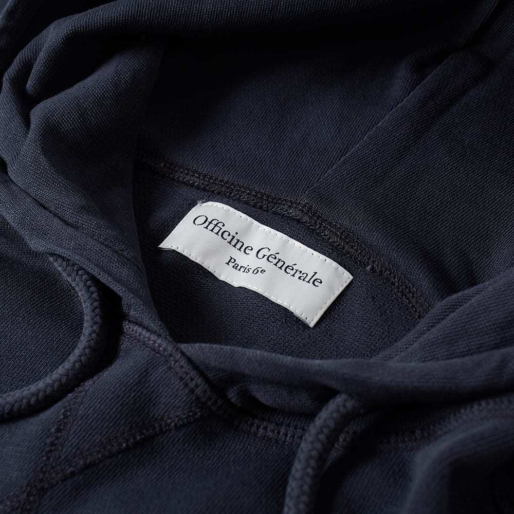Officine Generale Pigment Dyed Popover Hoody