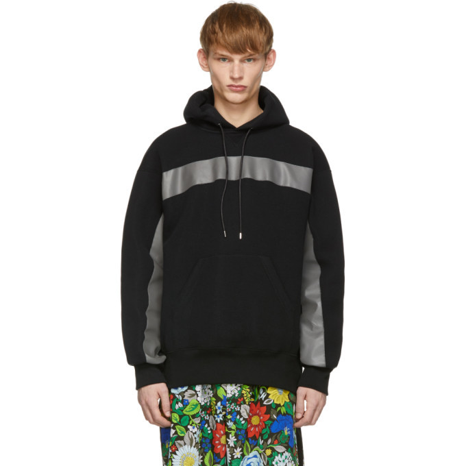 Photo: Sacai Black Sponge Sweat Hoodie