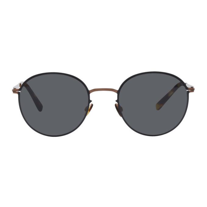 Photo: Mykita Copper and Black Lite Vabo Sunglasses