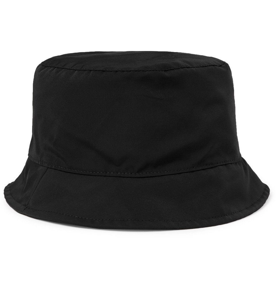 1017 ALYX 9SM - Hunter Nylon and Cotton-Blend Bucket Hat - Black
