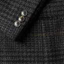 Martine Rose - Pin-Detailed Prince of Wales Checked Virgin Wool Blazer - Gray
