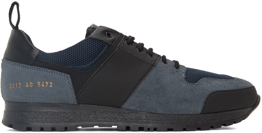 Photo: Common Projects Blue Track Technical Low Sneakers