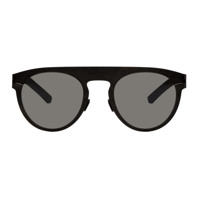 Photo: Maison Margiela Black Mykita Edition Pine Sunglasses