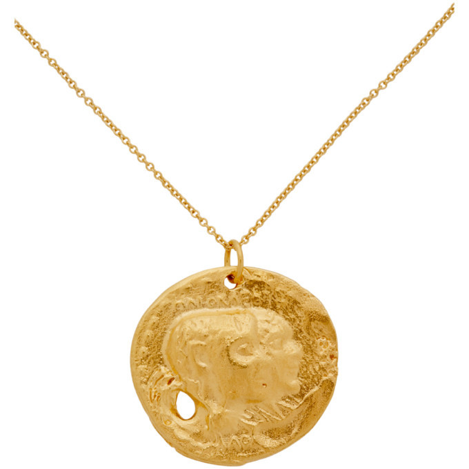 Alighieri Gold The Other Side Of The World Necklace