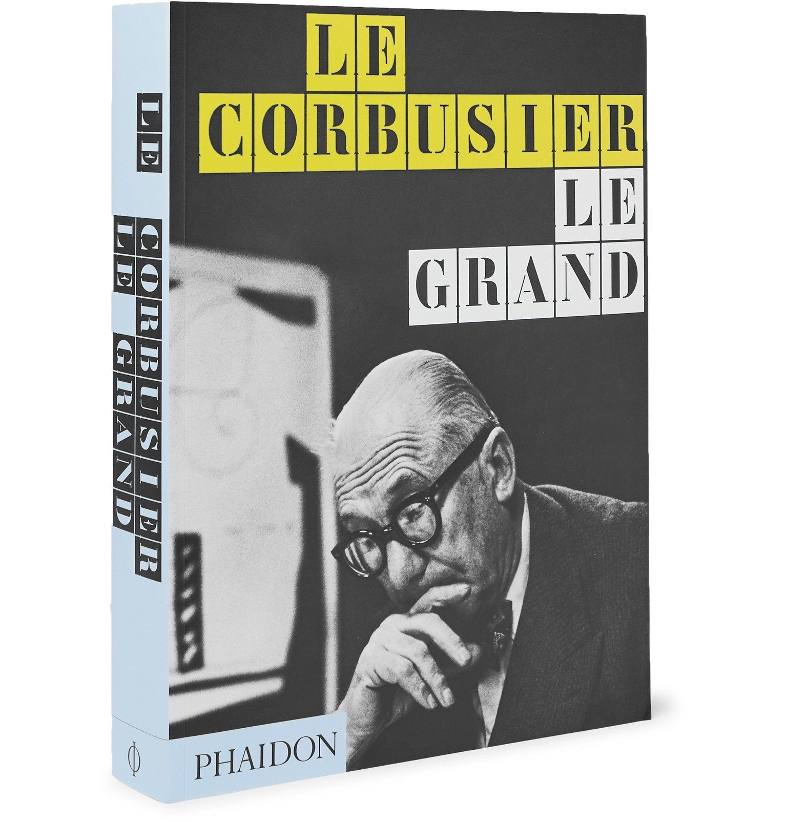 Photo: Phaidon - Le Corbusier Le Grand Paperback Book - Black