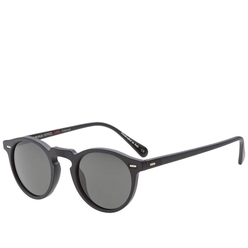 Oliver Peoples Gregory Peck Sunglasses Black