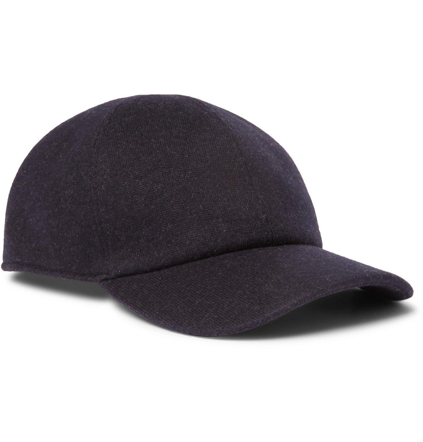 Photo: Loro Piana - Cashmere-Blend Baseball Cap - Black