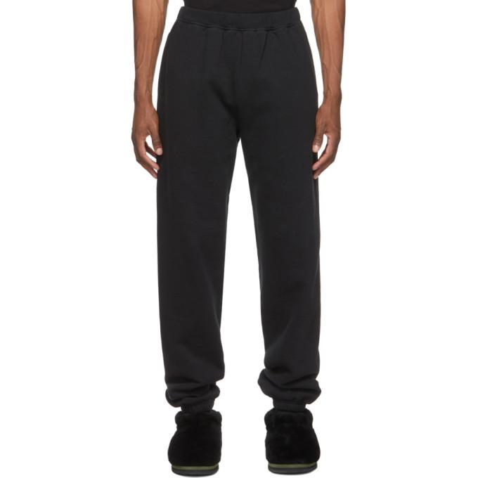 Aries Black Classic Temple Lounge Pants