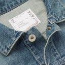 Sacai - Shell-Panelled Denim Jacket - Blue