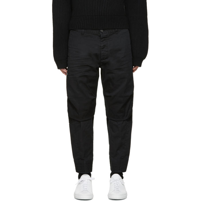 Photo: Dsquared2 Black Tizzy Chinos