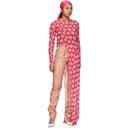 GmbH Pink Badu Mesh Dress