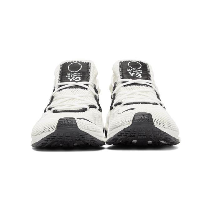 Y-3 White Boost Adizero Sneakers