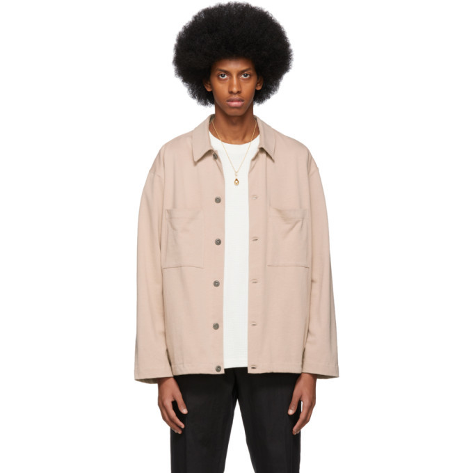 Photo: Lemaire Pink Jersey Jacket